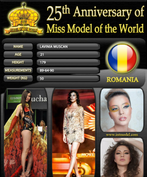 Miss Model of the World 2013