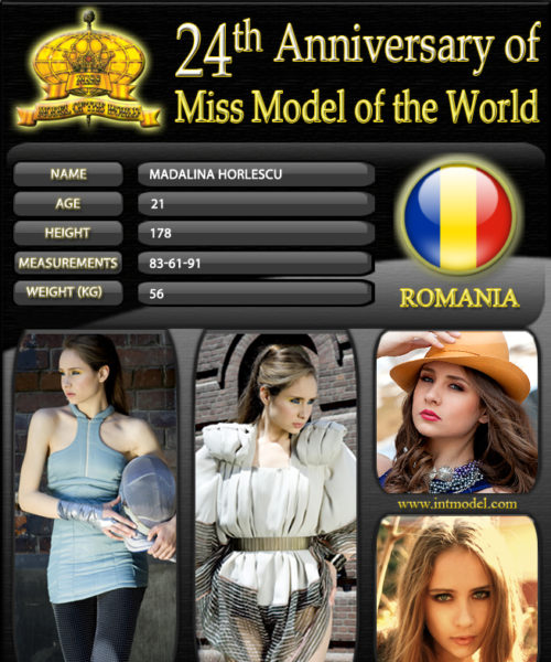 Miss Model of the World 2012