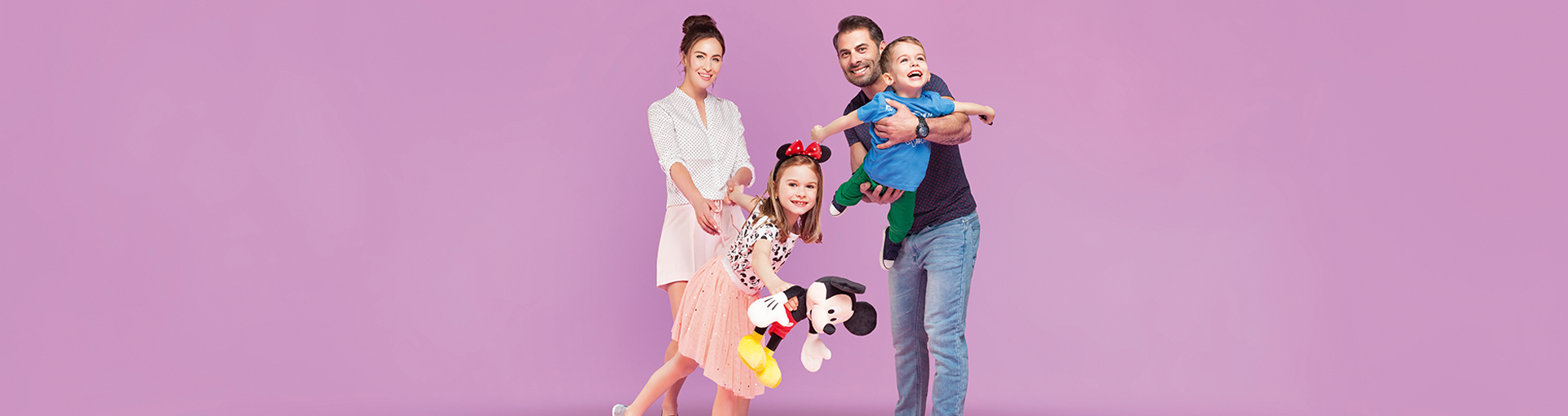 Delia, Raul, Emma & Eric spring 2017 VIVO campaign